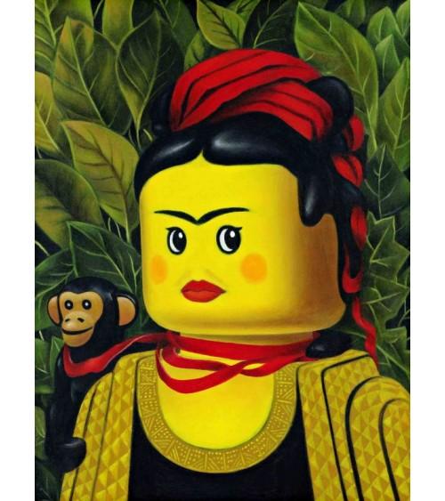 Scimmia e Nastro (Kahlo)