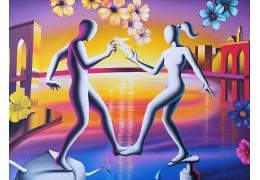 Mark Kostabi - nuove opere sul sito online Galleria Montmartre